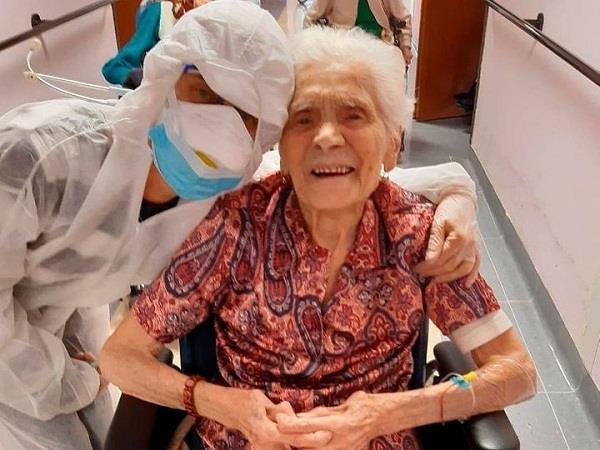 italy  101 year old maria orasighera