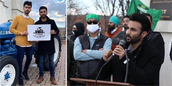 harish verma join kisaan rally in usa