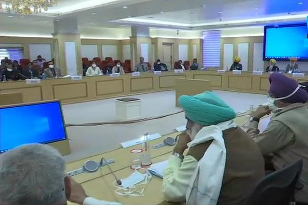 government farmers vigyan bhawan conversation