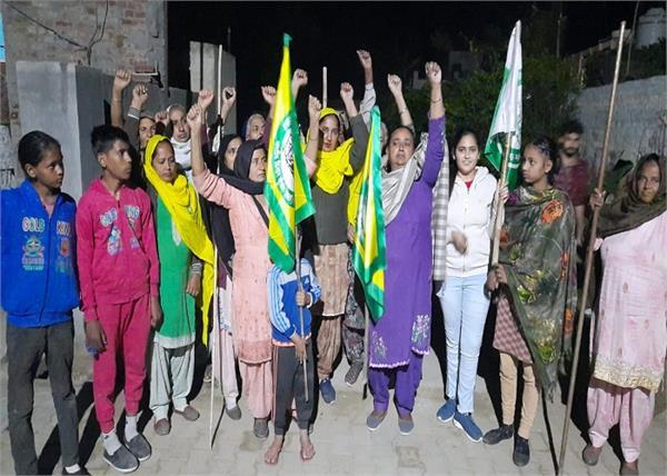 brigade  bhavanigarh  agriculture laws  protest
