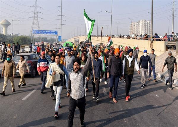 delhi ghaziabad border farmers protest farm laws