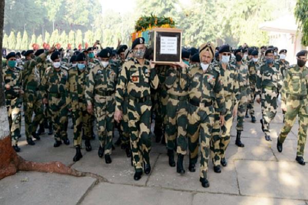 j k bsf jawan martyrs tribute
