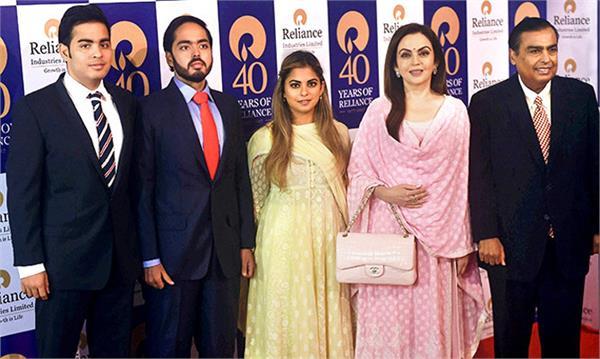 mukesh ambani asia richest family