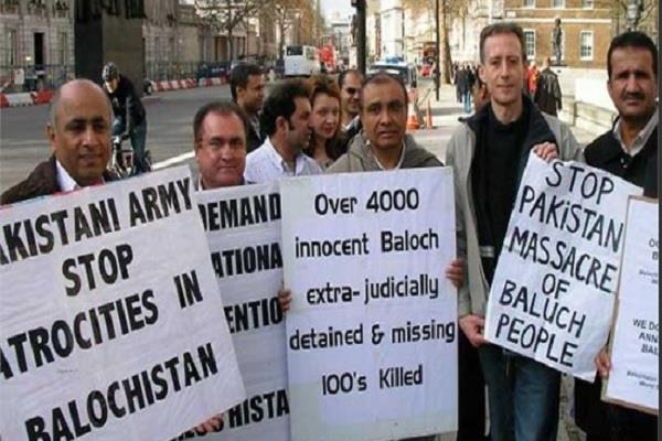 balochistan activists india help against pakistan