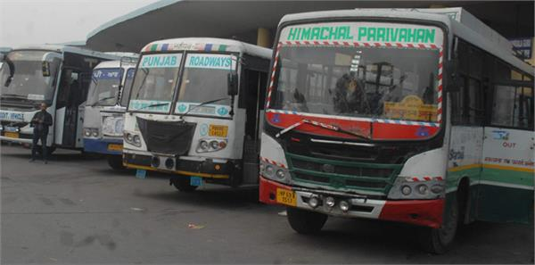 speed of buses stopped due to cold