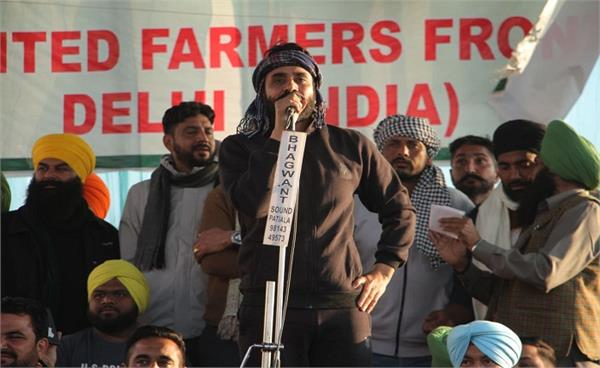punjabi singer babbu maan farmers protest singhu border