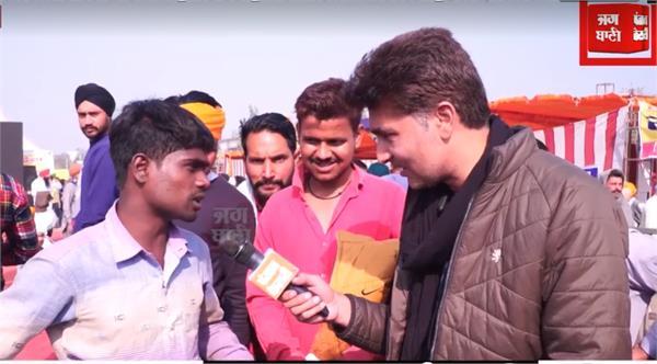 farmers protest delhi workers support farmer