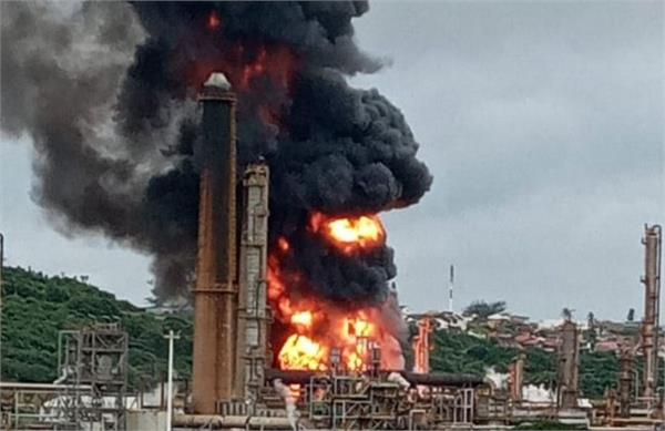 south africa  seven injured in durban oil refinery explosion