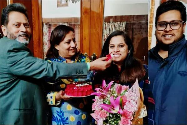 the additional deputy commissioner  s daughter became a judge