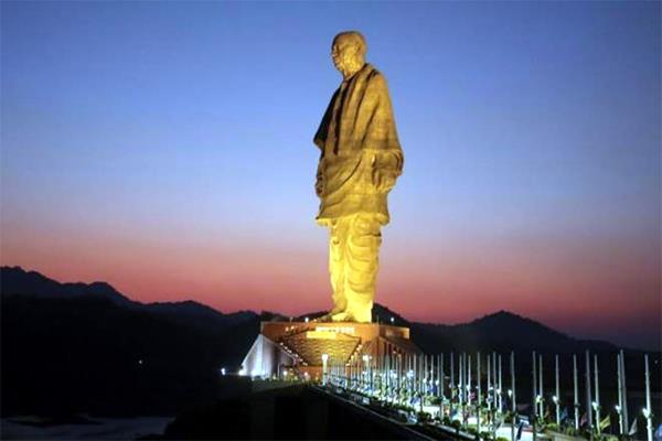 more than rs 5 crore missing from statue of unity daily collection account