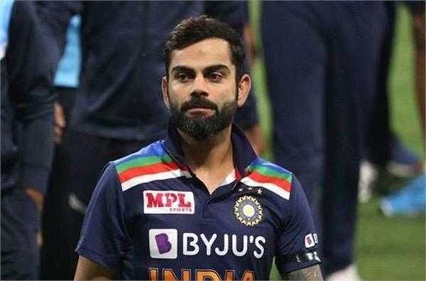 kohli is a little refreshed with the changes in the team