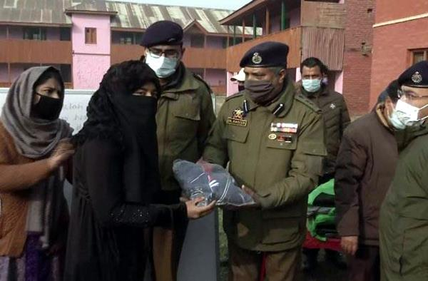 important items distributed to differently abled children in srinagar