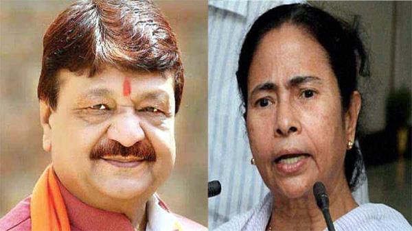 mamata banerjee will respond to   bricks   with   flowers    kailash vijayvargiya