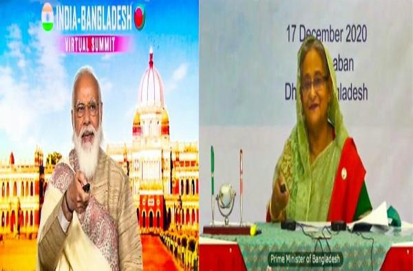 7 agreements signed between india and bangladesh