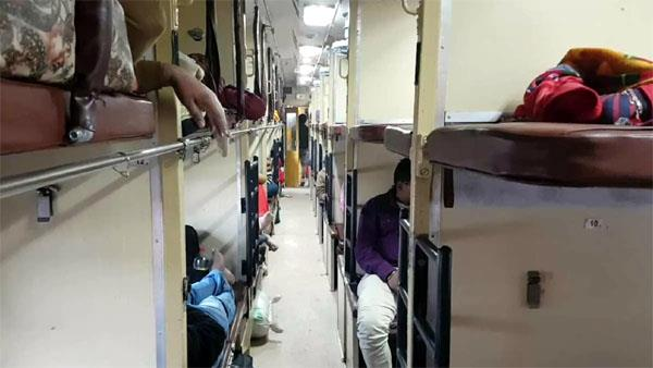 disposable bedroll kit will be available on the train from new year