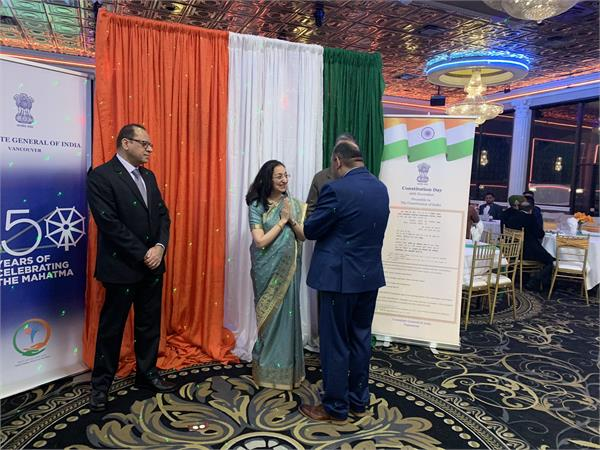 republic day celebrated at the indian embassy in toronto