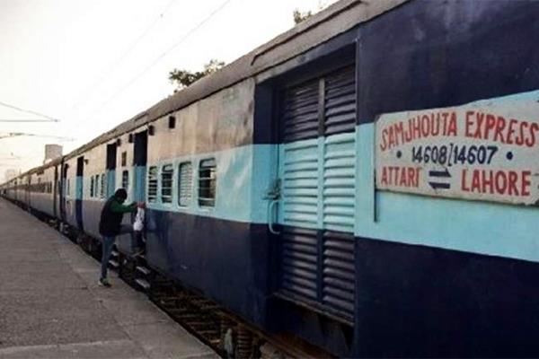 india asks pakistan to return samjhauta express rake