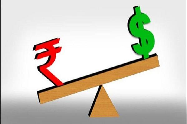 the rupee had lost 19 paise to 71 51