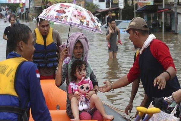 jkarta indonessia flood