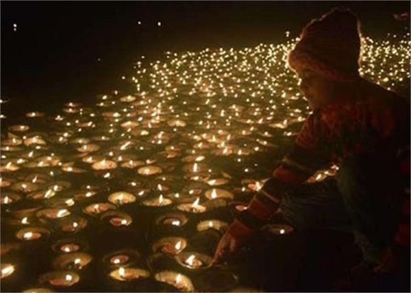 central government ganga aarti 21 thousand lamps