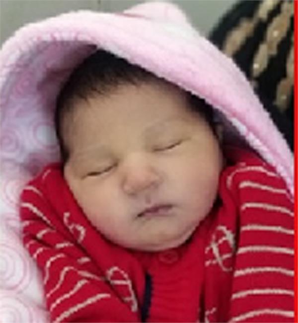 woman baby born