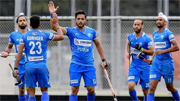 india first match in fih pro league against holland