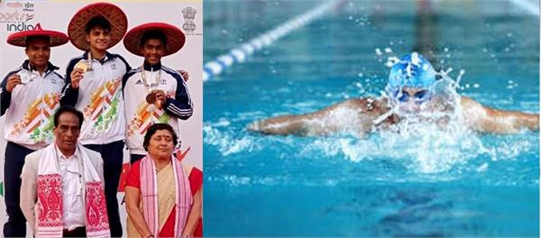 anurag singh of delhi won the gold medal in men s 800m freestyle swimming