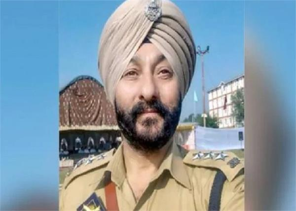 dsp davinder singh j k police dismissed