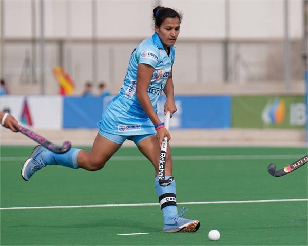 rani rampal lead as a captain of indian women s hockey team for new zealand tour