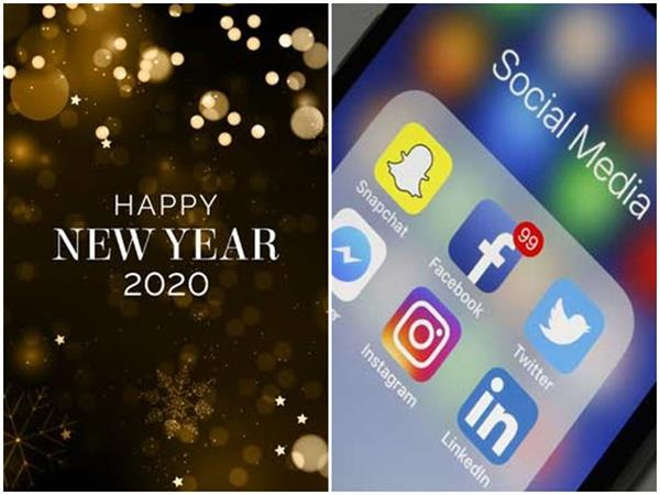 happy new year 2020 newyearchallenge on social media