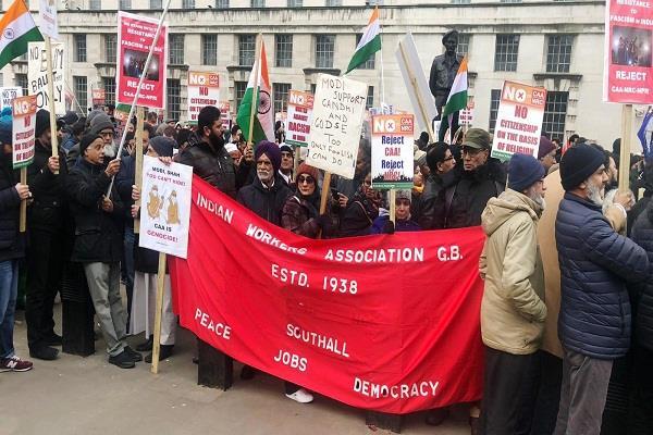 london  caa protest