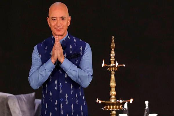 amazon to export   10 billion worth of   make in india   products  jeff bezos