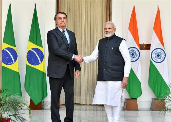 president of brazil and pm modi signed 15 agreements