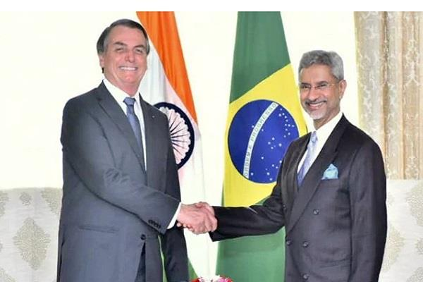 foreign minister meets brazilian president