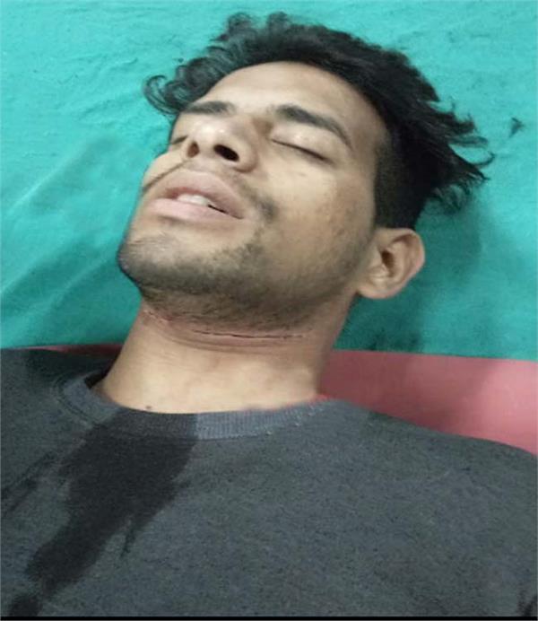 china door  motorcycle rider  injured