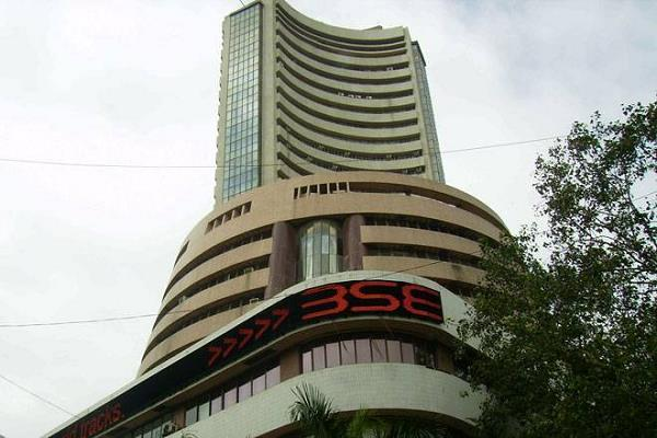 sensex down 416 points nifty down 122 points to close at 12 231