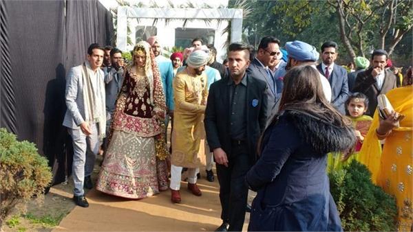 gurikk maan mann and simran kaur mundi wedding
