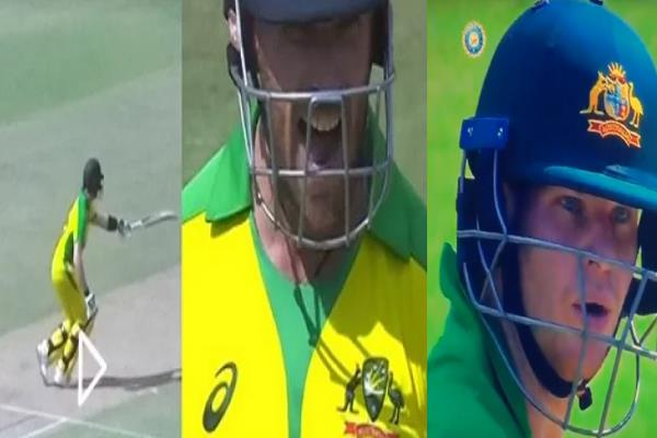 finch angry on steven smith