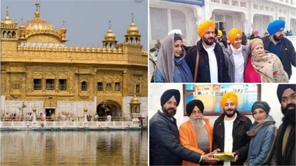 sonali bendre visits golden temple on her birthday