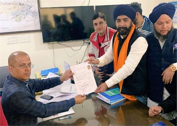 election commission notice tajinderpal singh bagga