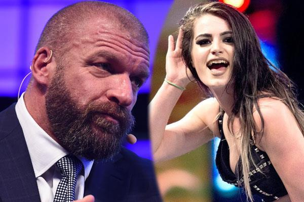 triple h made an objectionable comment on the women  s wrestler paige