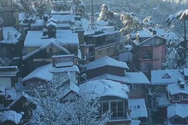 orange warning for january 12 below zero in mountains himachal