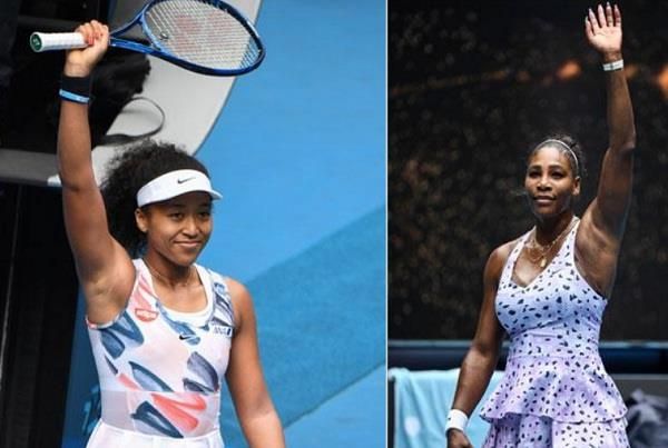 serena williams  naomi osaka  australian open