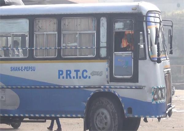 barnala  prtc buses