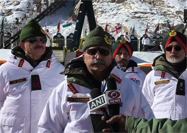 siachen army chief manoj mukund naravane martyred soldier tribute