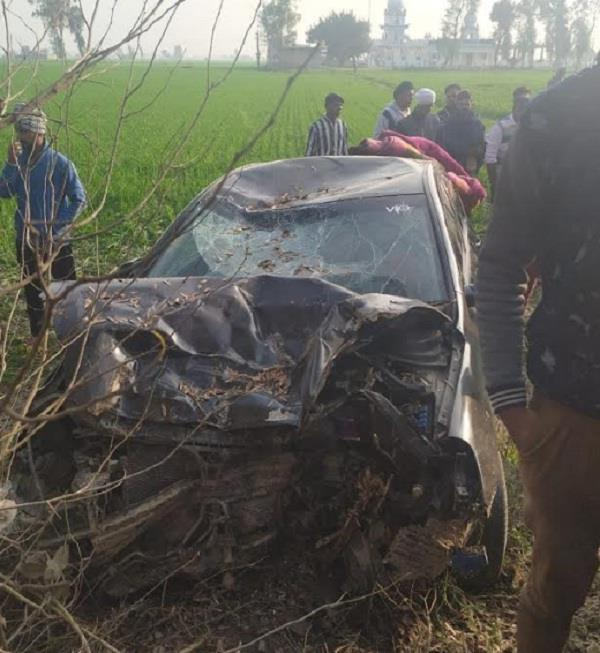road accident in three person death