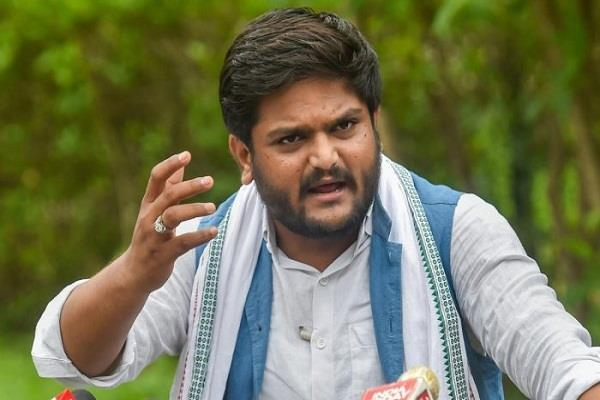 congress leader hardik patel arrested on treason charge tv report
