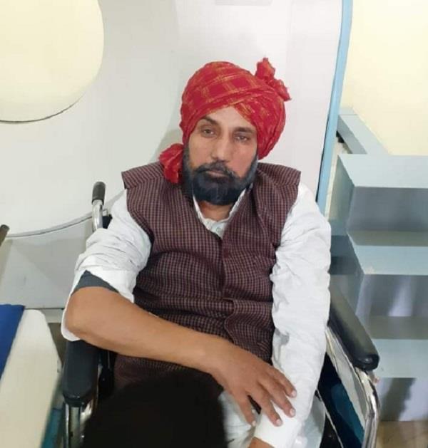 comedy artist bhajna amli in hospital