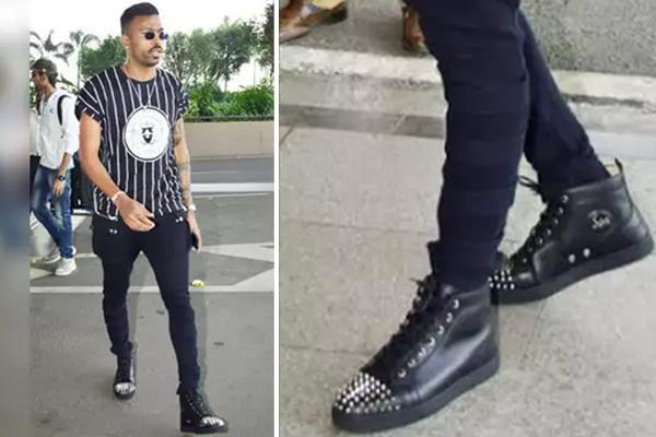 1 10 crore watch  hardik pandya showed up in sneakers