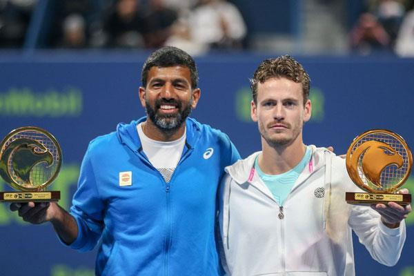 bopanna  s ranking improved by five places